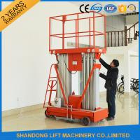 China 4 - 20 m Telescopic Boom Lift Rental , Aluminium Aerial Man Lift  Elevated Working Platforms on sale