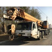 Five Function Level Used Puyuan Manual Crane For Sale in China , Yellow Color and Big Font Driver Cabin Manufactures