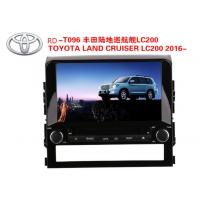 9 Inch Car DVD Player GPS Navigation for TOYOTA LAND CRUISER LC200 2016- WINCE or Android System Manufactures