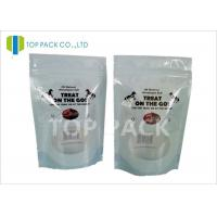 China Laminated Material plastik standing pouch Food Industrial Use Clear Window on sale
