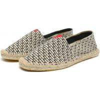 Fashion Women Canvas Flat Casual Rope Sole Slip On Shoes Manufactures