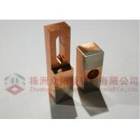 Tungsten Faced Copper Welding Electrode Tungsten Parts For Enameled Wire Welding Manufactures