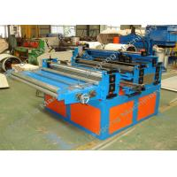 High Precision Tapered Sheet Metal Slitter Machine , Standing Seam Metal Roof Machine Manufactures