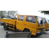 high quality JMC 3ton twin cabs tipper truck for sale Manufactures