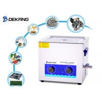 Mechanical Table Top Ultrasonic Cleaner 30L 500 Watt For Marine Engine Parts Manufactures