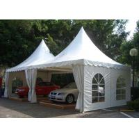 China Waterproof Aluminum Pagoda Tent , Movable Canopy Tent Frame CE Standard on sale