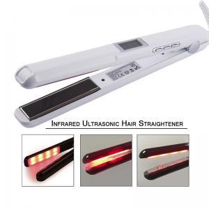 China 25W-39W Infrared Hair Straightener Ultrasonic LCD Display Hairs Flat Iron Ceramic on sale