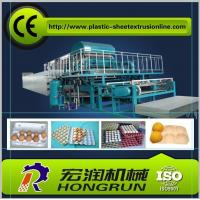 Pulp Molding Paper Egg Tray Machinery , CE Paper Egg Tray Machine Manufactures