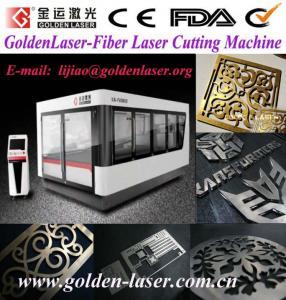 Stainless Steel Laser Cutting Machine Fiber 500W 2000W Manufactures