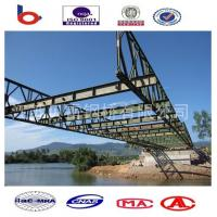 Compact 100 Truss Emergency Steel Bailey Bridge,321 Bailey Bridge Tablets,cantilever lauch Manufactures