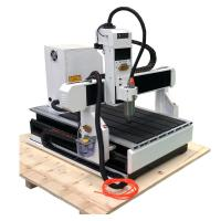 Quality Small desktop wood 3d cnc router 6090 6012 and mini aluminum engraving machine for sale