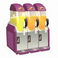 Slush machine with 3 tanks and CE certified Manufactures
