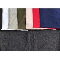 China Customizable Single Jersey Knit Fabric 94 %Cotton 6% Spandex For Garment on sale