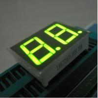 Green Two Digit Seven Segment Display Common Anode For Intrument Panel Manufactures