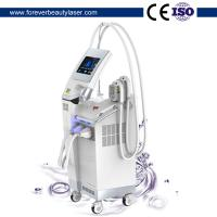 Vertical two handles Germany lamp  E-light SHR Hair Removal/ Skin Rejuvenation Device Manufactures