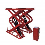 Electric SCISSOR Hydraulic Auto Lift , Garage In-ground Scissor Lift Manufactures