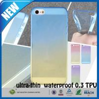 Shockproof Transparent Rubber TPU Matte iphone 5s Custom Cell Phone Case Manufactures