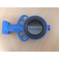 Stainless Steel Burrerfly Valve With Coated Nylon For Waterworks Purpose Manufactures