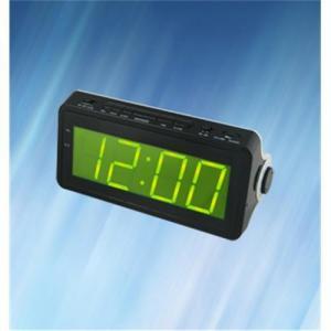 China AM/FM LED Alarm Clock Radio with 1.8 Large Panel LED Display on sale