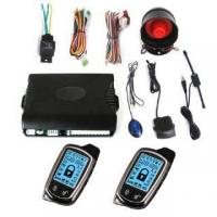 China New Super Long Distance (3000M) 2 Way Car Alarm System With LCD Display wholesale