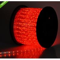 China flexible arm red led light 2 wire outdoor christmas rope lights on sale