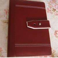 China PU leather notebook with magntic closure on sale
