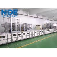 China Three Phase Electirc Motor Stator Winding Machine With Remotor Control on sale