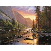 China Scenery Oil Painting On Canvas For LP26 on sale