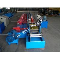 Automatic Roller Shutter Slates Steel Door Roll Forming Machine 7.5kw Manufactures