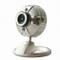 Five-in-one Glass Lens Metal CMOS PC Camera with UVC 2.0 Driver Free and Snapshot Function Manufactures