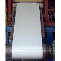 Normal Coated Color Coated Steel Coil TDC51D + AZ 508 - 610mm ID , 0.3 - 0.7mm TK Manufactures