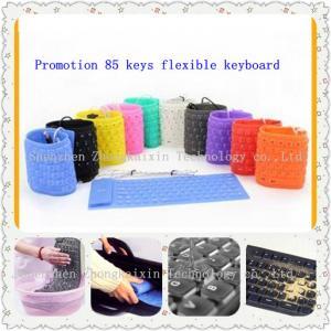 China 85  keys silicone flexible keyboard on sale