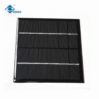 China 1.8W Solar Panel Photovoltaic 6V For outdoor filexable solar charger ZW-116116 on sale