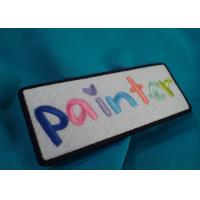 Custom Embroidered Patch , Personality embroidery patch , embroidered woven patch for clothing Manufactures