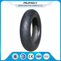 Natural Rubber Motor Cycle Tires 3.00-10 Rib Pattern 290KPA OEM Avaliable Manufactures