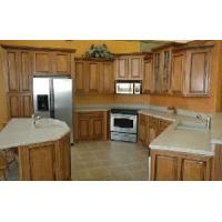 Solid Wood Kitchen Cabinets in European Style Manufactures