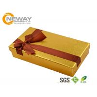 China Food Grade Paper Material Custom Gift Box for Chocolate Packaging on sale