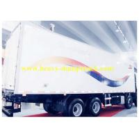 Sinotruk HOWO Refrigerated Box Truck 6X4 371HP with Truck Reverse Camera System Manufactures
