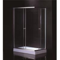 Quality Free Standing 1200 X 800 Rectangular Shower Enclosure With Tray Center Drain for sale