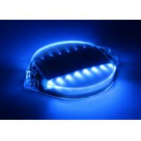 Super bright LED Solar Barricade Lights , Traffic Barricades Decorative Garden Lights Manufactures