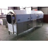 Rotary Rolling Drum Clean Machine , Fruit Vegetable Washing EquipmentISO Marked Manufactures