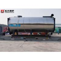 3500Kw Thermal Oil Heater Boiler Thermic Fluid Oil For Plywood Production Manufactures