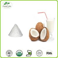 China Whosale bulk low fat organic desiccated coconut milk powder on sale