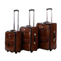 PU fashion luggage bag /trolley case Manufactures