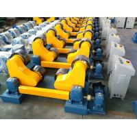 China 10 Tonne Self Aligning Rotator USE PU Material Wheels Wireless Control Linear for sale