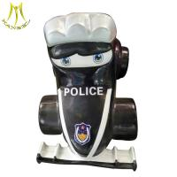 China Hansel  game room equipment children park police car electric ride on kiddie on sale