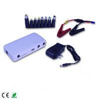 Li-ion Polymer Batteries Power Bank Mini jump starter 12000mAh with peak currrent 400A Manufactures