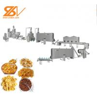 Industrial Corn Flakes Production Line Snack Food Extruder Machine Manufactures