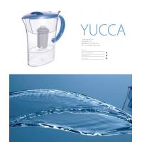 China 2.4L ABS Lid SAN Body Alkaline Water Filter Jug For Reduce Heavy Metal on sale