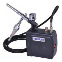 AC100~240V 0.6A 7cc Professional Airbrush Makeup tattoo Kit - with dual action airbr Manufactures